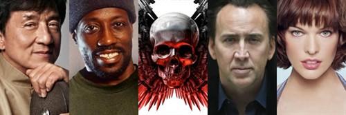 《敢死队3》(The Expendables 3)阵容再升级 成龙凯奇米拉将加盟