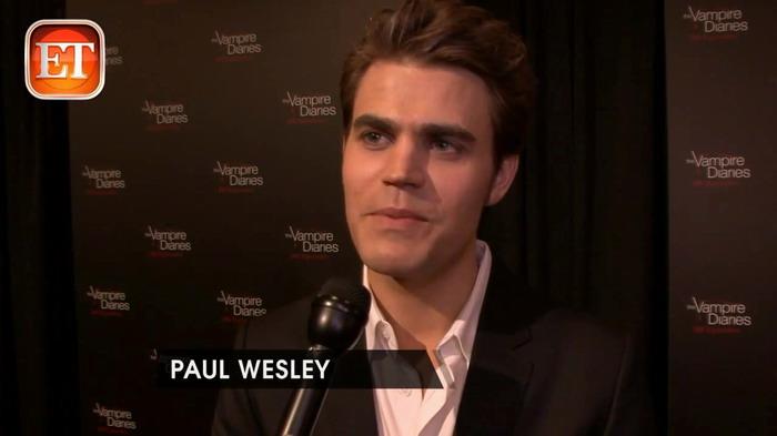 《吸血鬼日记》(The Vampire Diaries)100集庆典红地毯采访