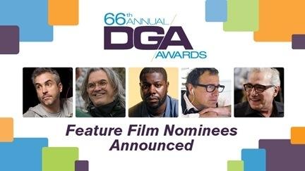 第66届导演工会奖(DGA)提名公布,科恩兄弟落榜