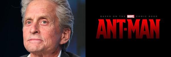 迈克尔·道格拉斯(Michael Douglas)加盟漫威《蚁人》(Ant-Man)