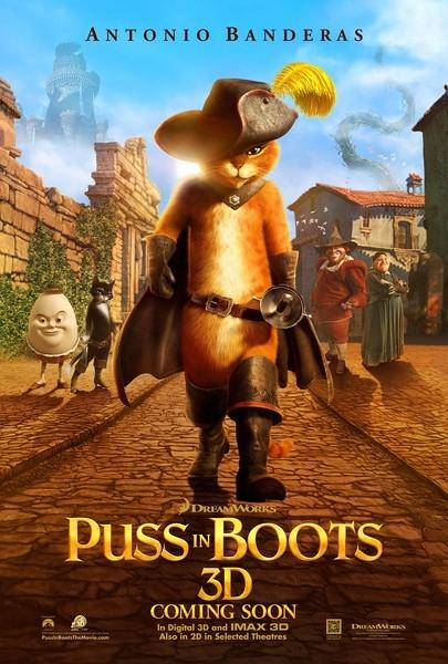 《穿靴子的猫2》启动制作 班德拉斯继续配音 预计2016上映