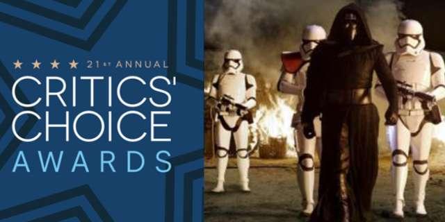 广播影评人协会提名《星球大战7:原力觉醒》为最佳影片!