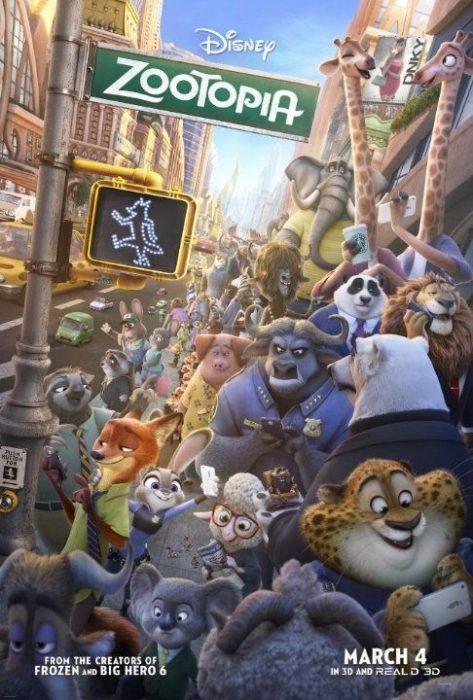 《疯狂动物城》Zootopia(2016)