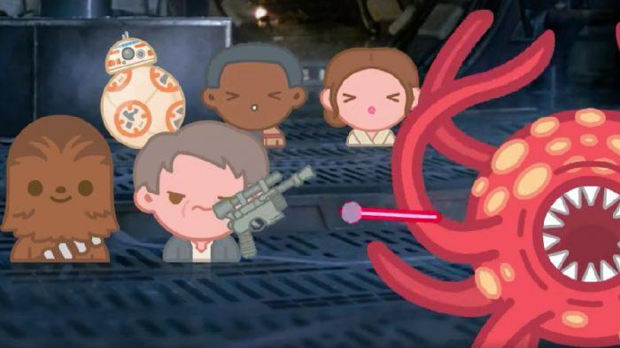 迪士尼推出Emoji表情版《星球大战:原力觉醒》 3分钟讲完整部电影