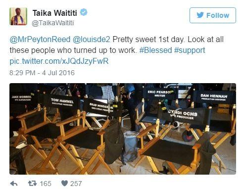 《雷神3:诸神黄昏》澳洲开机曝片场照 导演晒强大幕后团队 演员未现身