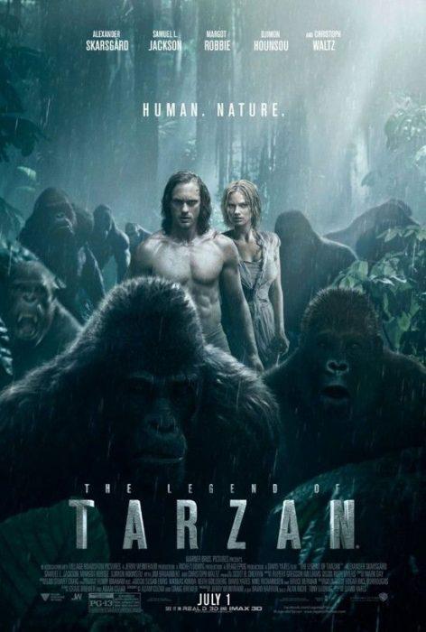 《泰山归来:险战丛林》 (The Legend of Tarzan) 2016
