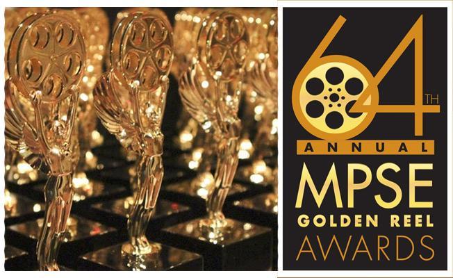 第64届音效剪辑师协会奖(MPSE)获奖名单