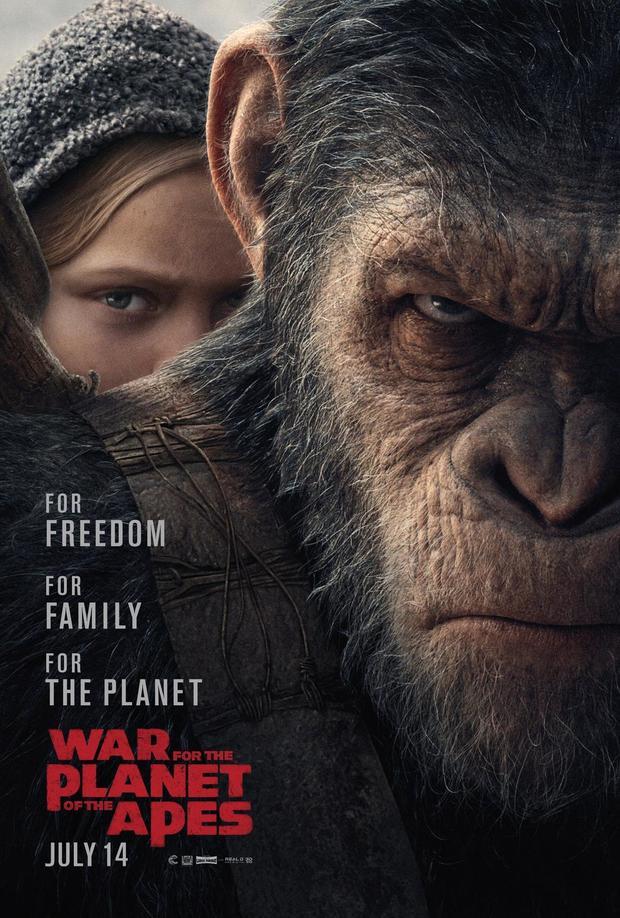 《猩球崛起3:终极之战》新预告打响人类命运之战