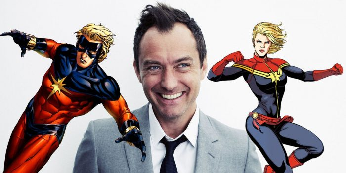 裘德·洛(Jude Law)加盟《漫威队长》