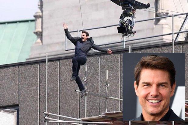 """""""阿汤哥""""汤姆·克鲁斯 拍《碟中谍6》受伤的官方视频曝光"""