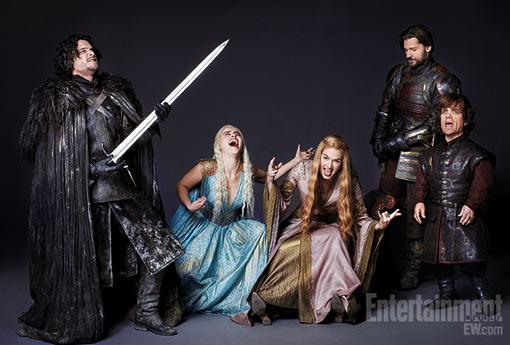 《冰与火之歌:权力的游戏》第2季回归在即 HBO再曝残酷粉丝海报