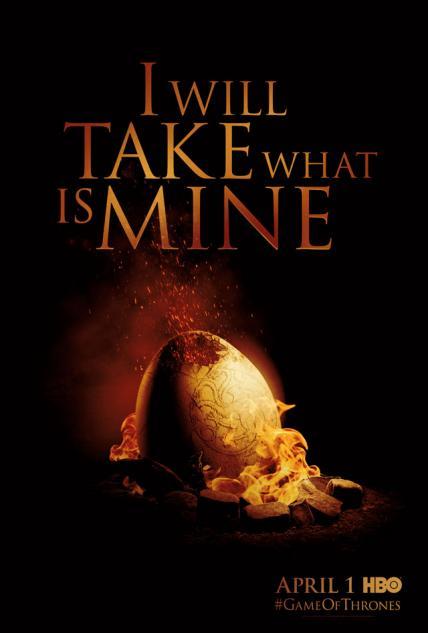 HBO预订《权利的游戏 Game of Thrones》第三季
