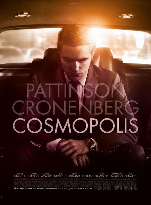 柯南伯格《大都市》(Cosmopolis)首曝正式海报以及重口味前导预告