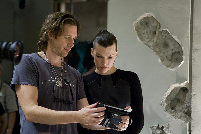 成就《生化》系列银幕传奇的二人组:保罗·安德森与米拉·乔沃维奇
