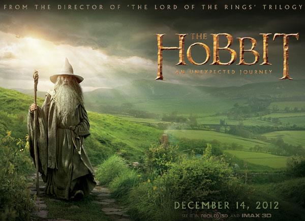 《霍比特人》(The Hobbit)三部曲名称、上映日期全公布!