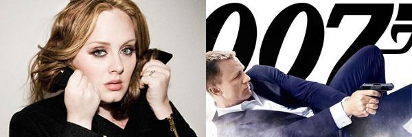 阿黛尔(Adele)确定将演唱007电影《天降杀机》(Skyfall)的主题歌