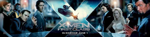 《X战警:第一课》(X-Men: First Class)新款宣传片