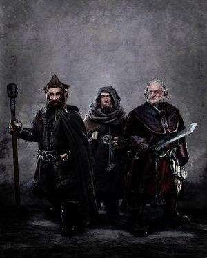 第一眼看:《霍比特人》矮人朵力、欧力、诺力