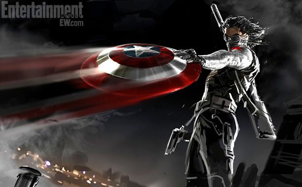 《娱乐周刊》曝光《美国队长2》《银河护卫队》最新概念艺术