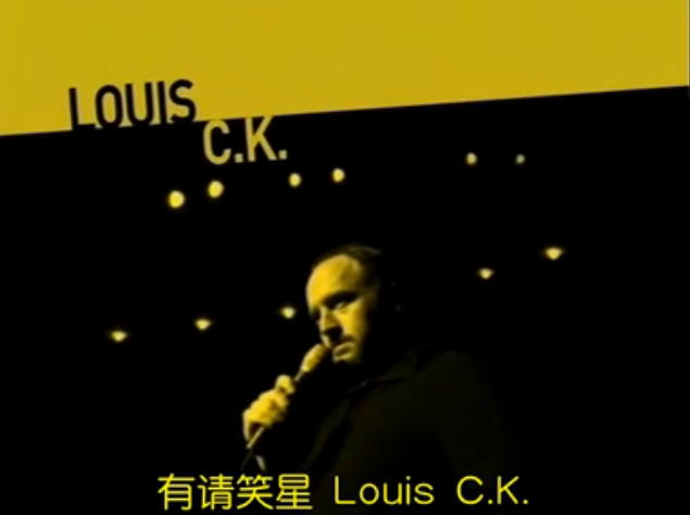 Louis C.K.2004年Stand-up单口表演One Night Stand