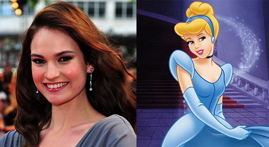 """迪士尼真人童话选角 """"唐顿""""女星 莉莉·詹姆斯 出任《灰姑娘》"""