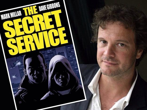科林·费思(Colin Firth)商谈出演马克·米勒漫画电影《秘密服务》