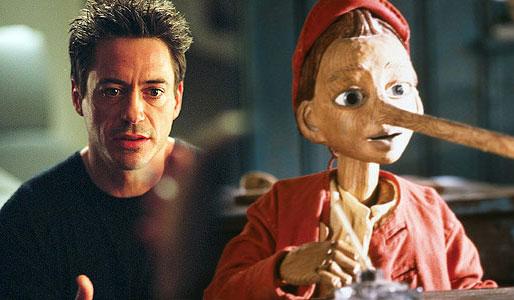 本·斯蒂勒有望执导小罗伯特·唐尼版《木偶奇遇记》
