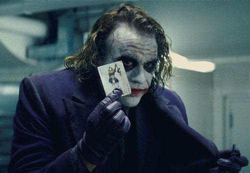 """希斯·莱杰(Heath Ledger)遗物""""小丑日记""""曝光"""