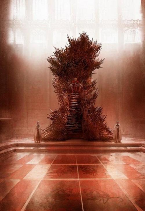 乔治·R.R.马丁吐槽HBO铁王座设计不靠谱 谈真正的铁王座
