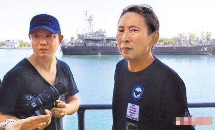 姚晨老公曹郁为拍新片冒名混入台湾军舰 或遭法办