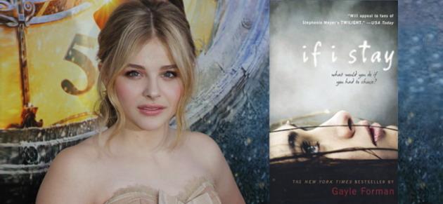 科洛·莫瑞兹(Chloe Grace Moretz)签约主演顶峰新片《如果我留下》