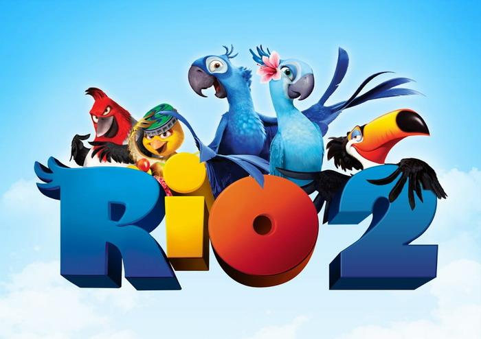 《里约大冒险2》(Rio 2)新曝先导预告 丛林冒险展开新角色登场