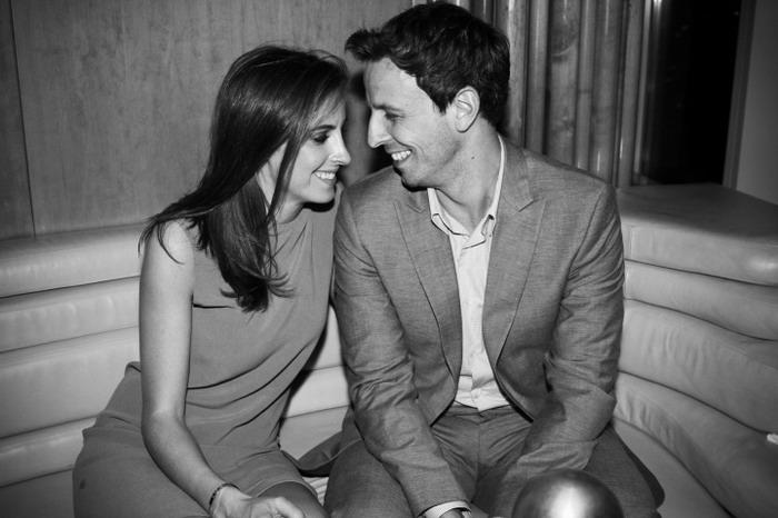 """""""赛金花""""塞斯·梅耶斯 (Seth Meyers) 和女友Alexi Ashe订婚"""
