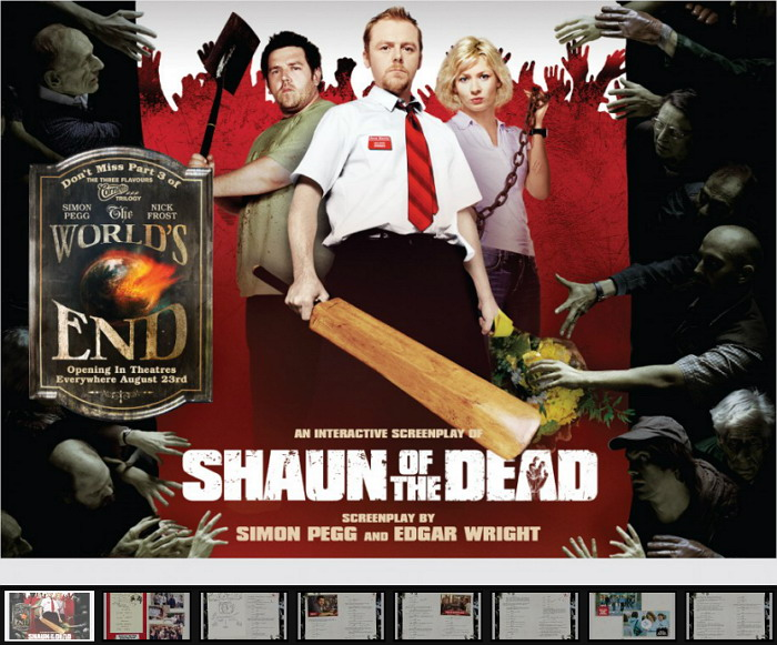 《僵尸肖恩》(Shaun of the Dead)官方交互式剧本以及PDF剧本下载