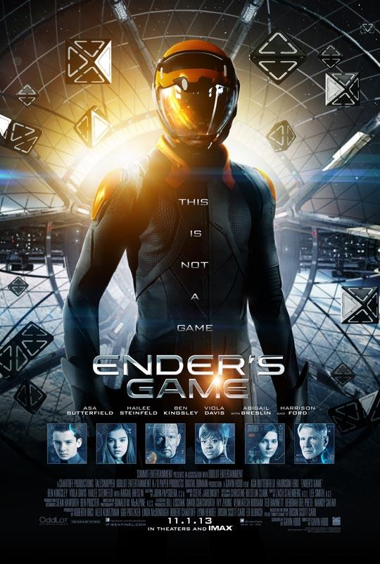 《安德的游戏》(Ender's Game)新款预告曝光 天才少年战斗模式全开