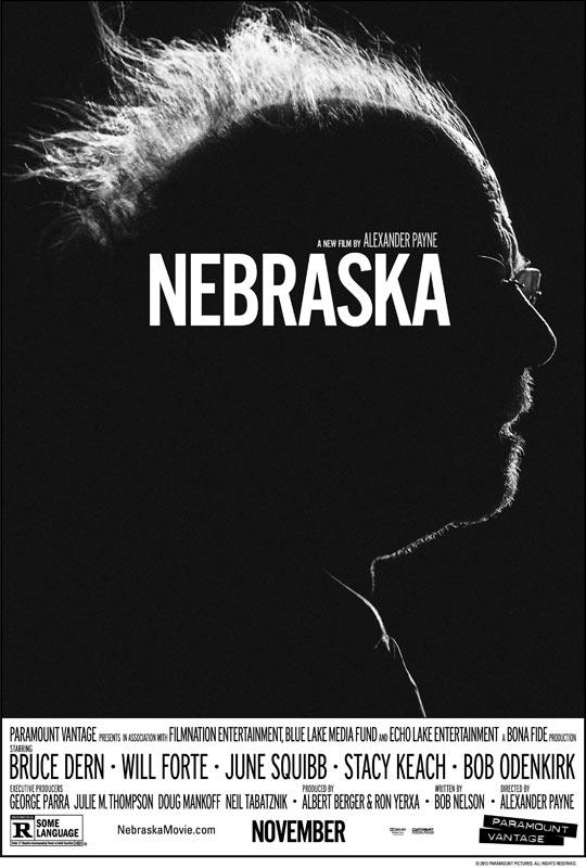 """""""后人""""导演戛纳封帝之作《内布拉斯加》(Nebraska)预告 黑白影像父子公路片"""