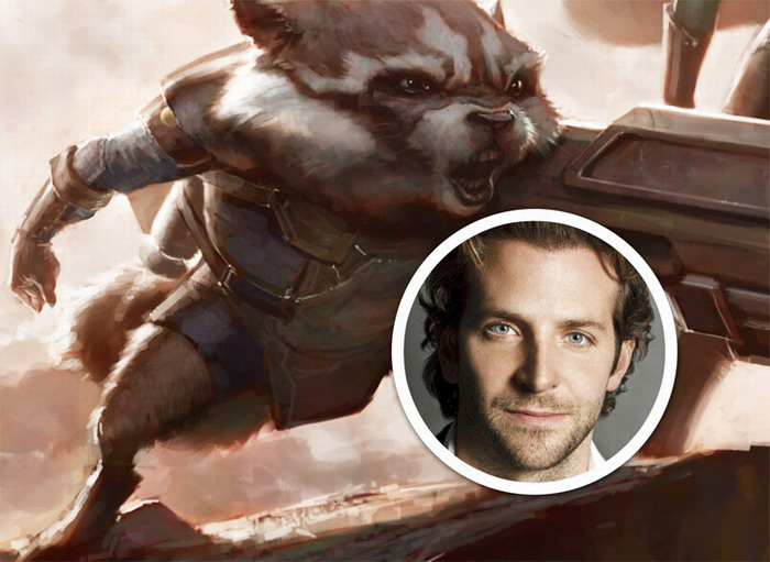 """布莱德利·库柏确认将为《银河护卫队》""""火箭浣熊""""配音"""