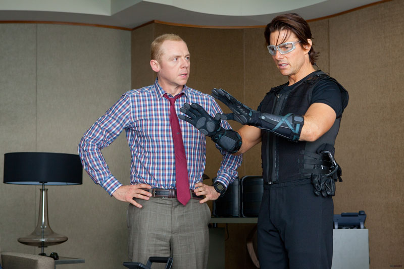 西蒙·佩吉(Simon Pegg)回归《碟中谍5》 再与阿汤哥组队