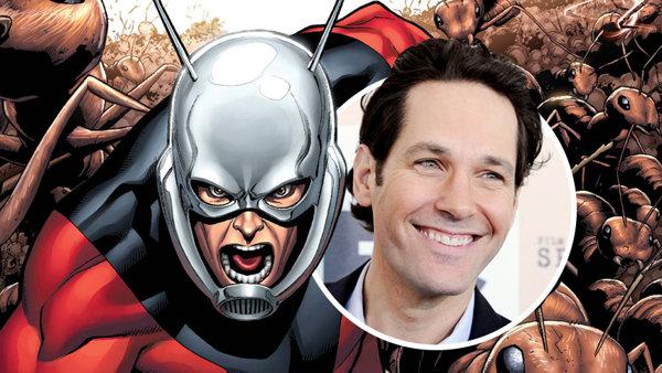"""保罗·路德(Paul Rudd)确认出演漫威迷你超级英雄""""蚁人"""""""