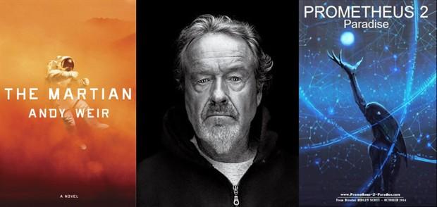 雷德利·斯科特牵手达蒙拍《火星人》 或放弃执导《普罗米修斯2》
