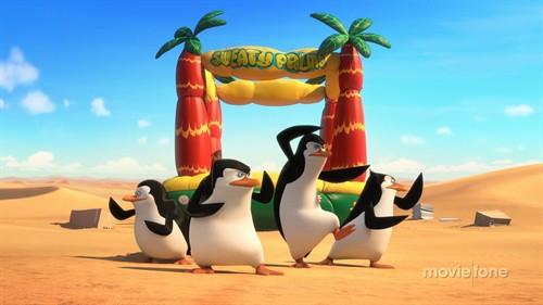 《马达加斯加的企鹅》首曝预告 企鹅四贱客归来卷福加盟献声