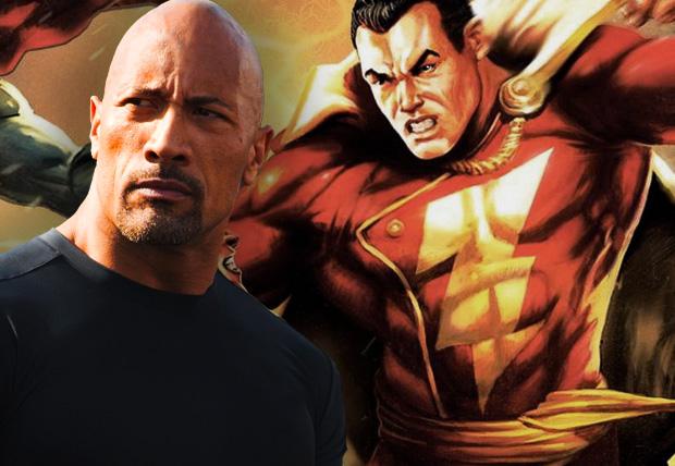 """巨石强森(Dwayne Johnson)或将出演DC漫画英雄""""神奇队长"""""""