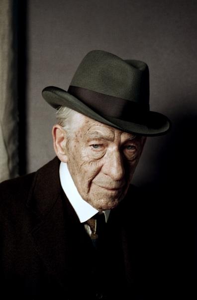 """伊恩·麦克莱恩(Ian McKellen)高龄版""""福尔摩斯""""亮相"""