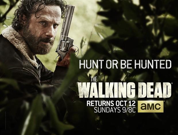 《行尸走肉》(The Walking Dead)第五季发预告片 或将有三名角色死亡