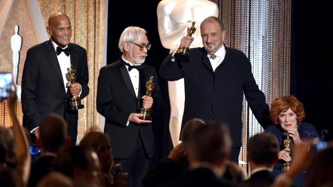 宫崎骏获(Hayao Miyazaki)颁奥斯卡终身成就奖 将继续创作短篇动画