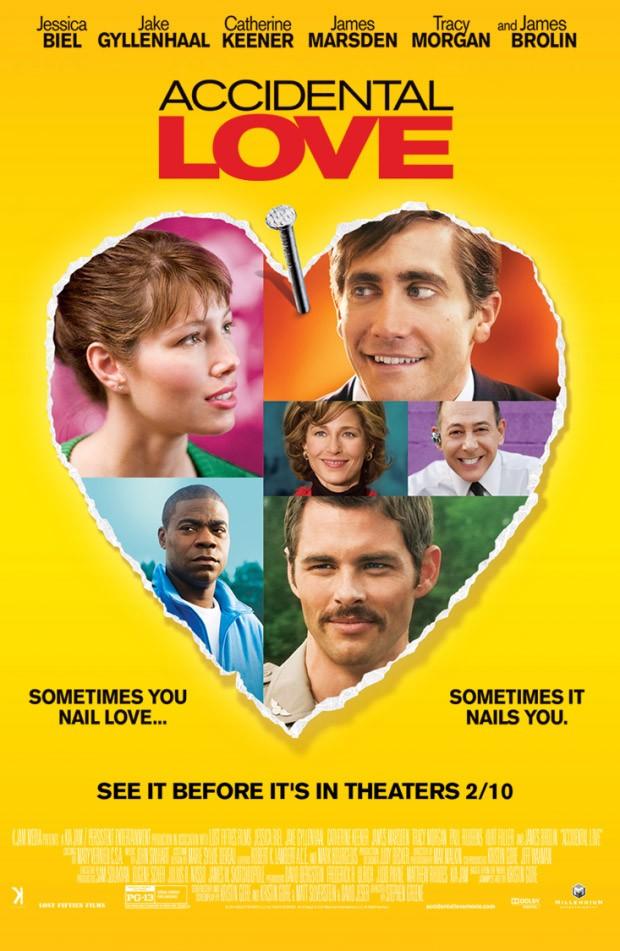 大卫·O·拉塞尔 新作首《意外的爱情》(Accidental Love)曝海报预告