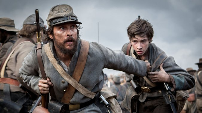 马修·麦康纳(Matthew McConaughey)《琼斯自由邦》造型曝光