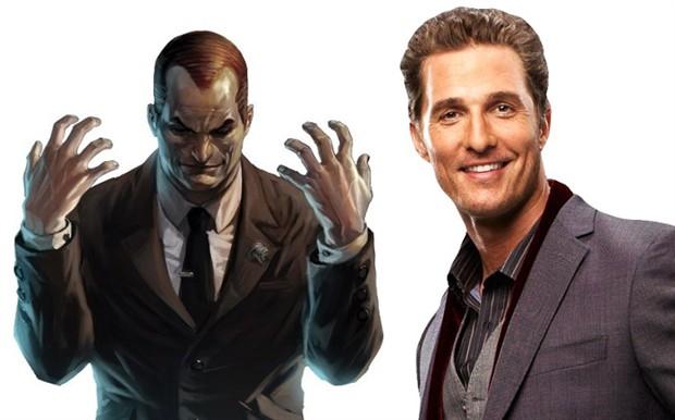 传马修·麦康纳将出演绿魔 或现身《新蜘蛛侠》 曾自曝想演超级英雄片