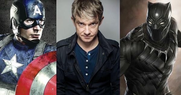 """""""华生""""马丁·弗瑞曼(Martin Freeman)加盟《美国队长3:内战》"""