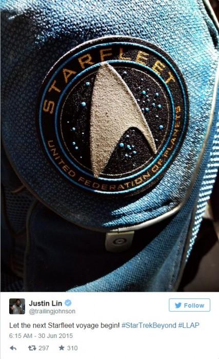 林诣彬为《星际迷航3》定名 推特曝首张照片 舰队起航在即